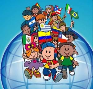 los ninos de todo el mundo: